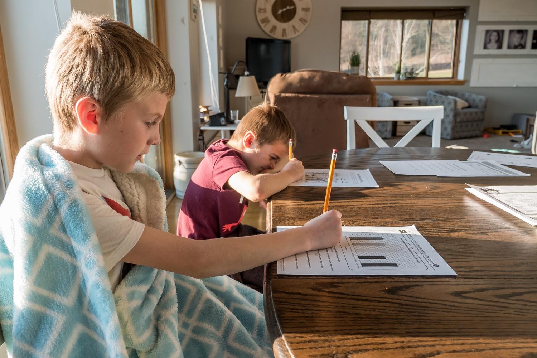 tareas con los hijos